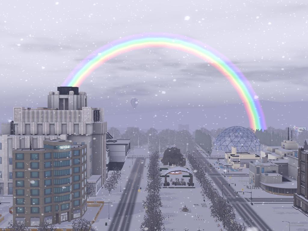 Rainbow over Sim Acres