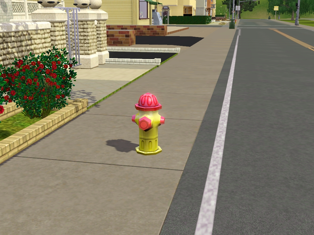 A fire hydrant in CAW.