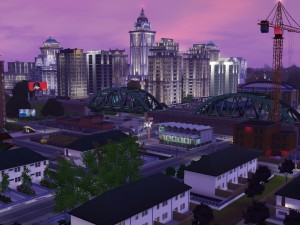 Riverside-Industrial/low income district