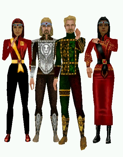 The Sims 1 - Simpose Group Portrait