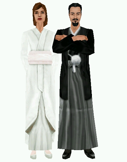 The Sims 1 - Simpose Couple