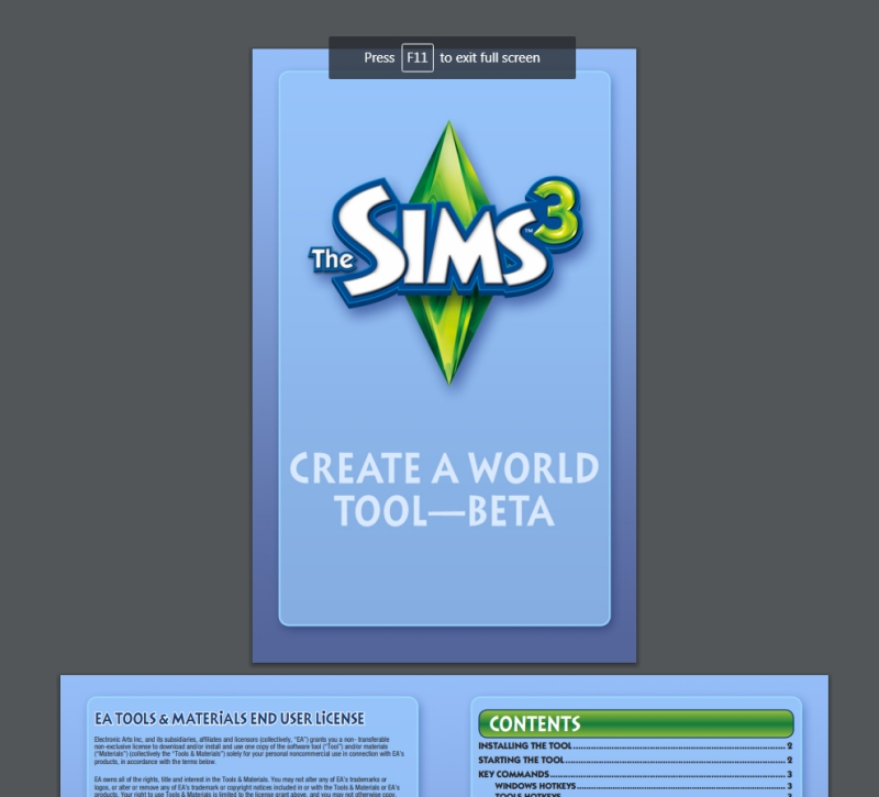 Create a World Manual