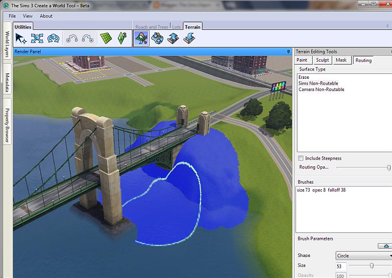 Don't paint under bridges