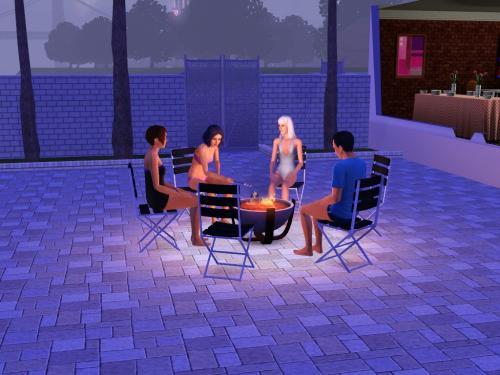 Riverside-party